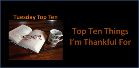 top ten thankful